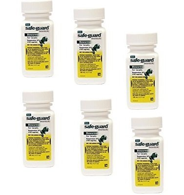 Safeguard Goat Dewormer 125 mL 6 Pack by Safeguard