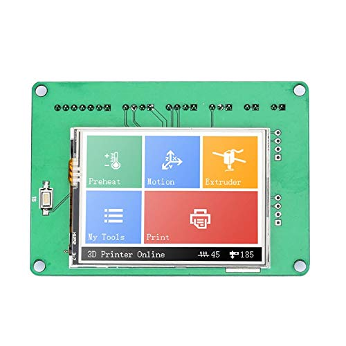 Zamtac 1 Set 3D Printer Parts 2.8inch Full Color Touchscreen Board Compatible with Ramps1.4 MKS XR649 - (Color: Green) by GIMAX (Image #4)