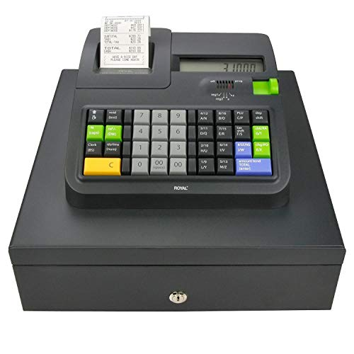 - Royal 310DX Thermal Print Electronic Cash Register