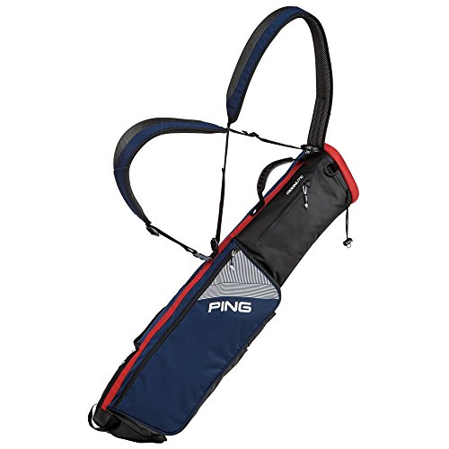 PING 2018 Moonlite Carry Bag (Navy/White/Red)