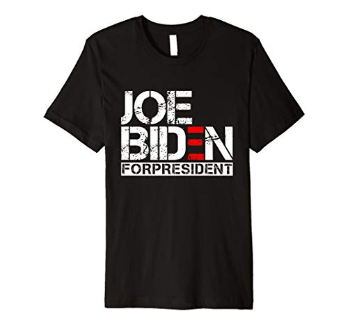 Joe Biden President 2020 Election Democratic Distressed Tee Premium T-Shirt]()