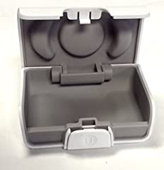 New Unitron white hard hearing aid case. This is the smaller of the two Unitron white hard hearing aid cases. Perfect for In-the-Canal (ITC), Completely-in-Canal (CIC), Invisible-in-Canal (IIC), and other small hearing aid types. Dimensions a...