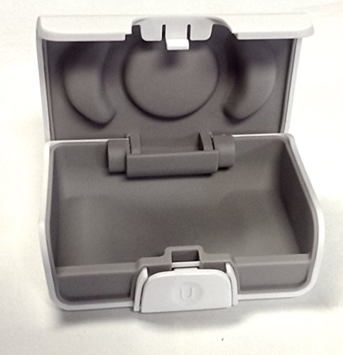 Unitron White Hearing Aid Case- Size Small (Aid Carry Hearing Case)
