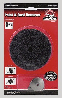 """Gator Grit Paint & Rust Remover 4 """" Fits All 3/8 """" Electric Drills"""