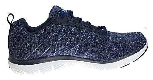 Skechers Flex Appeal 2.0 Womens Fashion Sneakers Navy