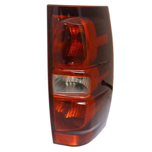 Replacement GM2801196 Passenger Side Tail Light for 2007-2013 Chevy/Chevrolet Suburban 1500 2500 Tahoe (Excluding Hybrid Models)