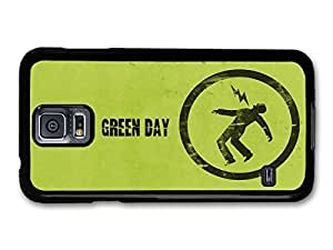 AMAF ? Accessories Green Day Punk Rock Band Green Logo Lighting case for Samsung Galaxy S5 wangjiang maoyi by lolosakes