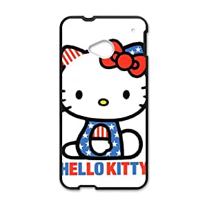 HGKDL Hello kitty Phone Case for HTC One M7 case