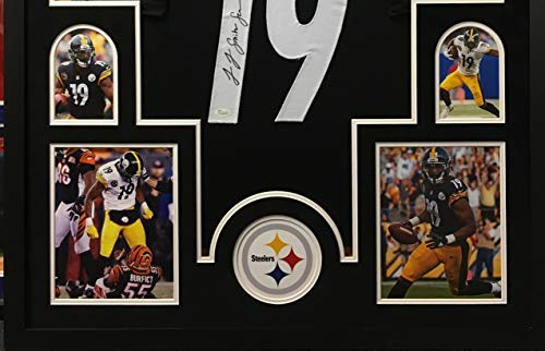 save off 5c02d f97c3 JuJu Smith Schuster Pittsburgh Steelers Autograph Signed ...