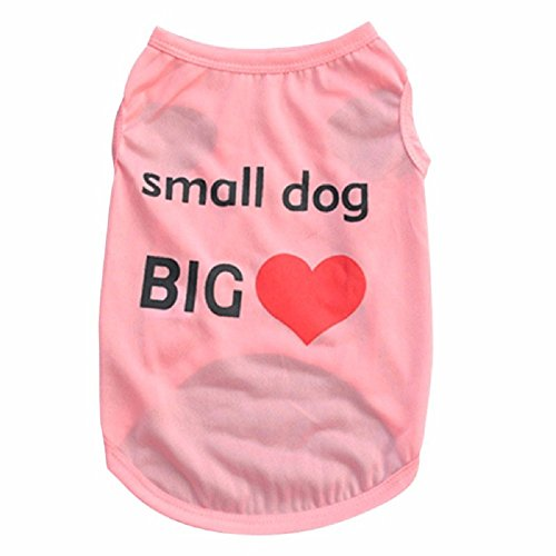 Warrior Princess Costume Extra Small (Dog Clothes For Small Dogs Pattern Small Dog Sweater Spring Summer Top T-Shirt Vest Clothes Pet Costumes (M, Pink))