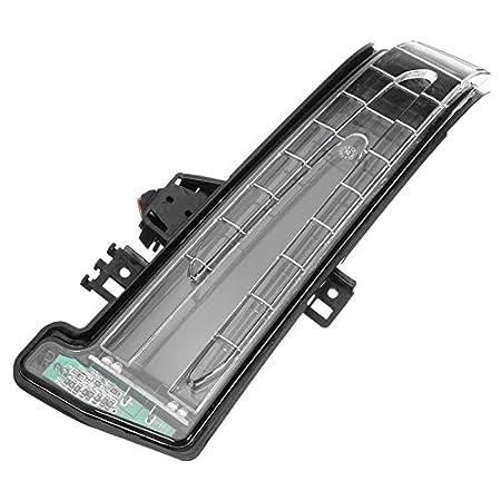 Lopbinte Lampe Indicatrice De R/éTroviseur De Voiture Lentille De Clignotant pour Mercedes W204 W212 W221 2010-2013 1 Paire