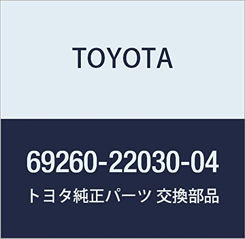 Genuine Toyota 69260-22030-04 Window Regulator Handle Assembly
