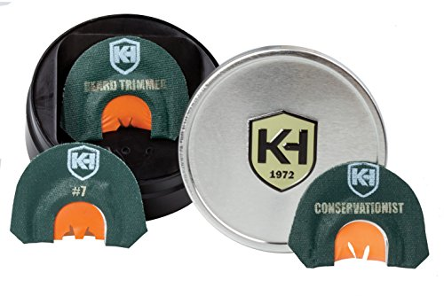 Knight & Hale Legend Series (3 Pack) Turkey Diaphragm Call (Pack Knights Three)