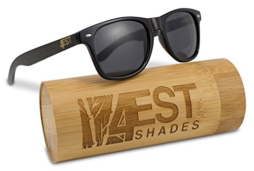 Bamboo Sunglasses - 100% Polarized wooden shades for Men & women from the