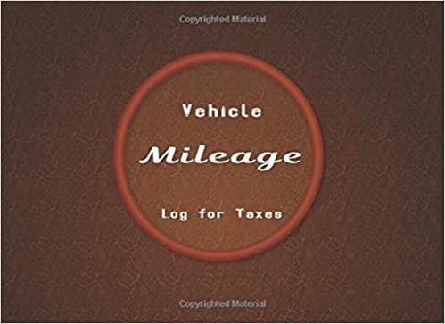 amazon com vehicle mileage log for taxes auto car truck suv