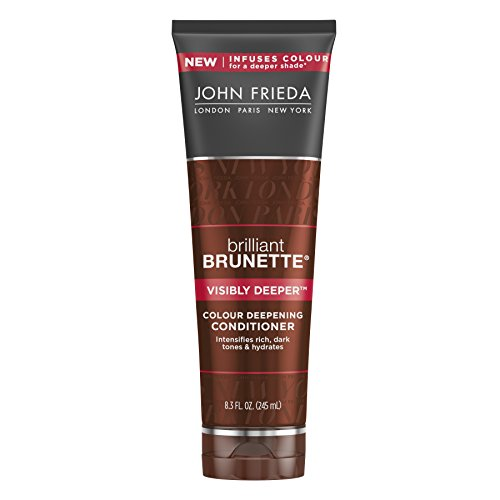 John Frieda Brilliant Brunette Visibly Deeper Colour Deepening Conditioner, 8.3 Fluid Ounce (John Frieda Deep Conditioner compare prices)