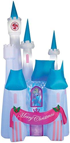 Projection Airblown Cinderella Castle Decoration ()