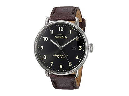 Shinola Detroit Men's The Canfield 43mm - 20001939 Black/Oxbloo