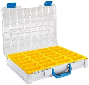 Sortimo STB 321 B T-Boxx B3 - Caja de herramientas con compartimentos, color amarillo
