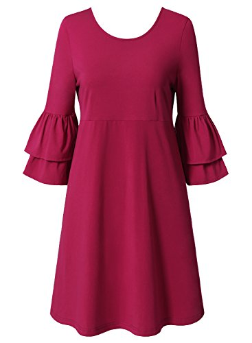 Bulotus Dresses Womens Trumpet Cocktail