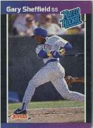 1989 Donruss Gary Sheffield Rookie Baseball Card 31