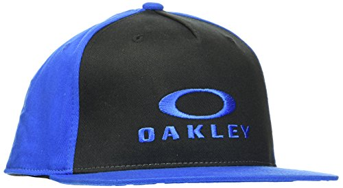 Oakley Men's Sliver 110 O-Justable Flexfit Hat, Ozone, One Size Fits All