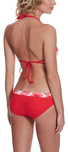 Antie Bikini Conjunto para mujer Rossa Patrón-1