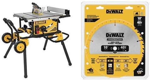 Dewalt Dwe7491rs 10 Inch Jobsite Table Saw With 32 1 2 Inch Rip