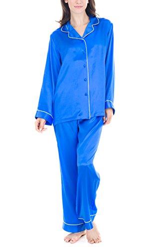 Women's Luxury Sleepwear 100%Silk Pajamas Set by Oscar Rossa
