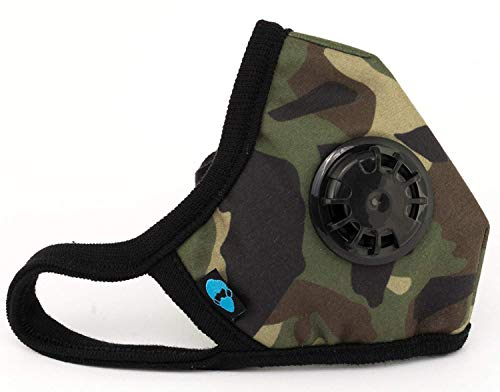 Cambridge Mask Co Pro Anti Pollution N99 Washable Military Grade Respirator with Adjustable Straps - General XL Pro ()