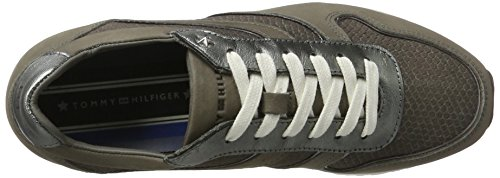 Tommy Hilfiger I1285zzy 1n1, Zapatillas para Mujer Gris (Light Grey)