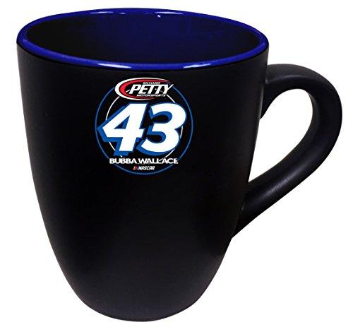 Bubba Wallace #43 NASCAR Two Tone Ceramic Mug