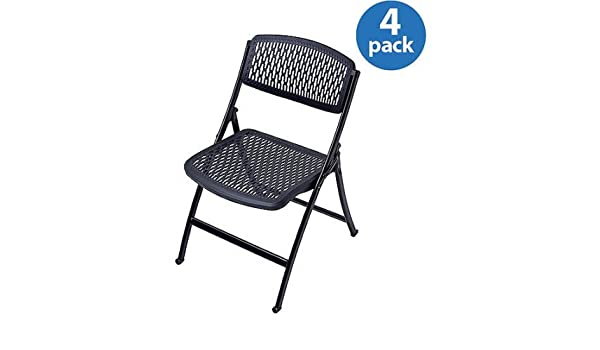 Admirable Amazon Com Flex One Folding Chairs Set Of 4 Model 1Ff004P Beatyapartments Chair Design Images Beatyapartmentscom