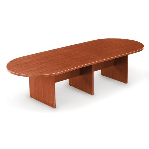 10' Racetrack Conference Table Dark Cherry ()