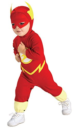 Justice League The Flash Costume Size: Toddler