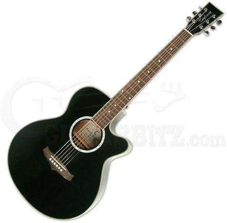 Tanglewood Evolution TSF Folk Guitarra Electro Acústica - Negra
