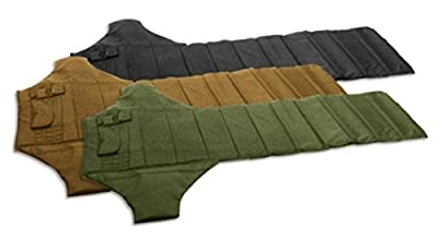 VooDoo Tactical Roll Up Shooter's Mat with Ammo and Gear Pouches, Lightweight, Padded