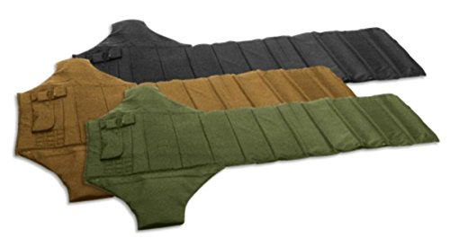 VooDoo Tactical Roll Up Shooters Mat with Ammo and Gear Pouches, Lightweight, Padded