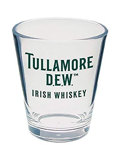 (Tullamore Dew Irish Whiskey Shot Glass)