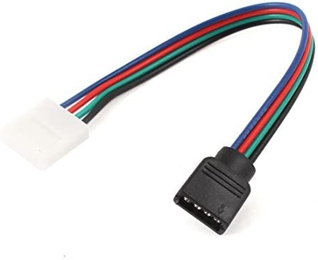 NA Female End 5050 LED Light Strip for Cable Connector 4-pin PCB Adapter