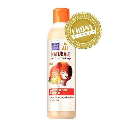 Dark and Lovely Au Naturale Hydrating Soak Shampoo-13.5 oz