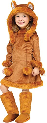 Toddler/girl's Sweet Fox Costume (Sweet Fox Child Costume - Medium)