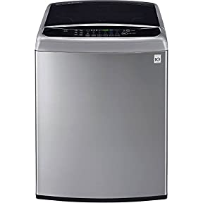 LG WT1801HVA 5.0 Cu. Ft. Graphite Steel With Steam Cycle Top Load Washer - Energy Star
