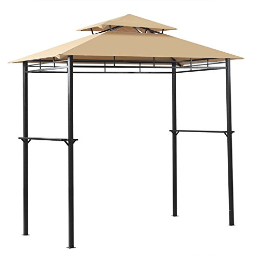 Cheap  8' x 4' Outdoor Grill Gazebo Patio BBQ Soft Top Canopy Tent