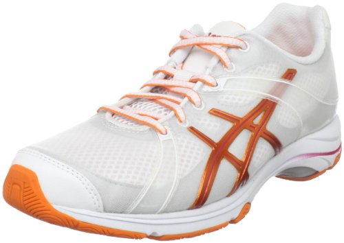 Cross Damen US M ASICS Orange Himbeere Weiß Trainer 6 Ipera Gel Mohn q4wfwdAtx