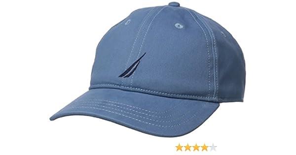 Nautica H81000, Gorra de béisbol para Hombre, Azul (Tide Blue) One ...