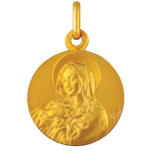 Premier Carat - Médaille Vierge en Prière - Or 18 carats