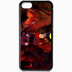 Personalized iPhone 5C Cell phone Case/Cover Skin New incredible lionel messi Black