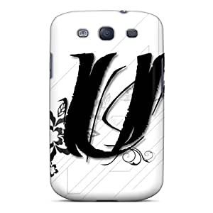 Hot Tpye Letter U Case Cover For Galaxy S3
