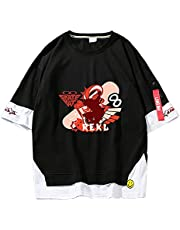 Anime SK∞ the Infinity T-shirt SK8 the Infinity Fake two T-shirts Reki Langa T-shirts Korte mouwen Trui